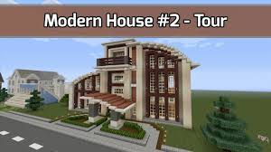 let u0027s build modern house 2 in minecraft tour video city