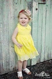 cute yellow girls dress lemonade couture