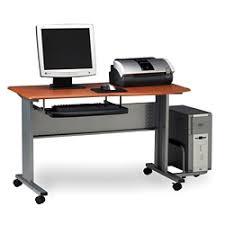 Computer Desk On Wheels Computer Cart On Wheels Shop Mobile Laptop Stand Desks With