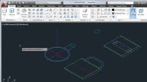 convert 2d objects to 3d u2014 autocad 2012 youtube