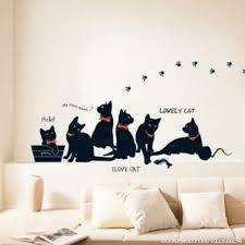 stickers muraux chambre sticker mural mignon diy famille sticker mur papier