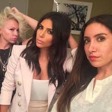 Website For Makeup Artist Kim Kardashian U0027s Hair Stylist Launches An Impressive New Website