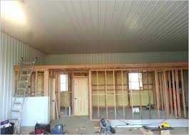 garage interior paint colors color schemes walls best ideas on tin