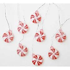 package of 32 artificial mini peppermint