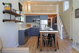 this cottage packs a lot into 399 square feet less is more