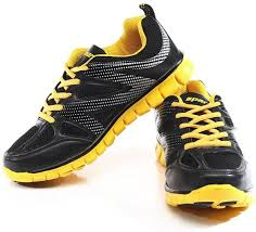 running shoes sparx sx0178g running shoes buy black yellow color sparx sx0178g