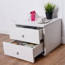 Small Nightstand With Drawers 13
