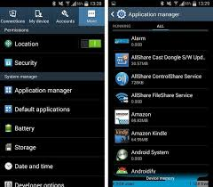application manager android which system apps can be disabled on android androidpit