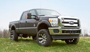 ford truck lifted 05 11 ford f250 f350 trucks 4 u0027 u0027 radius arm suspension lift press
