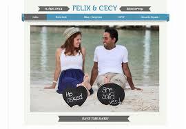 Wedding Websites 15 Beautiful And Lovey Dovey Wedding Websites For Valentine U0027s Day