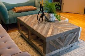 Wood Coffee Table With Storage Diy Tutorials Here Diy Upcycled Refur Repur Pinterest