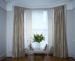 Living Room Window Treatment Ideas Living Room Bay Window Curtain Ideas Decorating Clear
