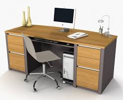 Computer Desk With Filing Cabinet Amazing Corner Computer Desk Design With Ply Wood Material Also