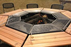 Firepit Grills Jag Grill Pit Table Grill Outdoor Dining Fireplaces