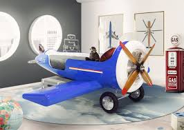 airplane toddler bed sky one plane bed gives young ones amazing aviation experience