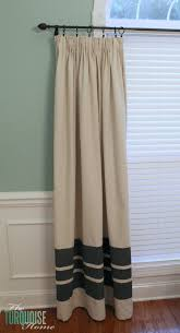 How To Make Curtains Out Of Drop Cloths Diy Easy Pleated Curtains From Sloppy To Structured The