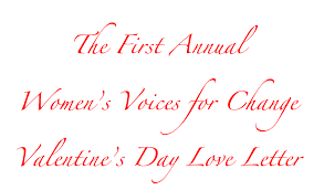 the first annual women u0027s voices for change love letter women u0027s