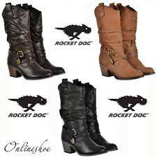 womens boots rocket womens rocket sidestep rider cowboy brown black