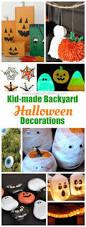 10 halloween yard decoration crafts for kids