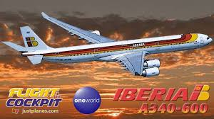 Iberia Route Map by Iberia340