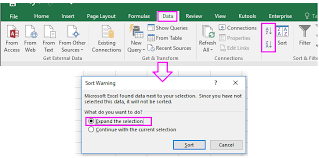 how to sort data numerically then alphabetically in excel