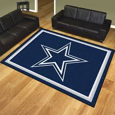Dallas Cowboys Area Rug Dallas Cowboys 1 4 Plush Area Rug 8 X 10