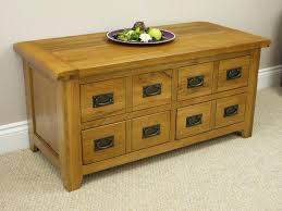 rustic storage coffee tables coffee table ideas rustic oak 4 drawer storage coffee table amazing deluxe