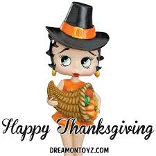 pin by jeannie recend on betty boop happy thanksgiving