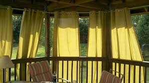 decorate outdoor curtains for gazebo design home ideas