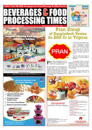 beverages u0026 food processing times july 2015 by advance info media