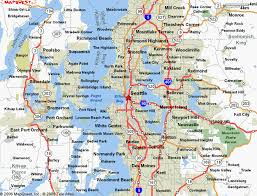 seattle map map of seattle washington travelsmaps