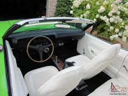 1970 Cuda Interior Plymouth Hemi Baracuda Convertible Cuda