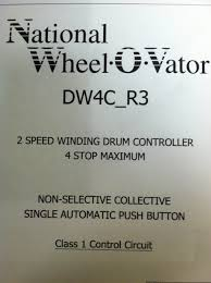 national wheelovator elevator dw15 wiring manual