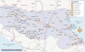 Modena Italy Map Rg B Format