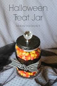 halloween diy treat jar mabey she made it