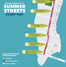 map of nyc streets summer streets nyc 2017 dates a map and more curbed ny