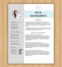 instant download resume template u0026 cover letter editable microsoft