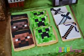 minecraft birthday party ideas awesome birthday party ideas for boys