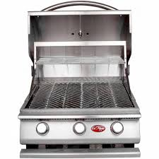 Backyard Grill 3 Burner by Cal Flame Gourmet Series 3 Burner Built In Stainless Steel Propane
