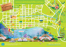 printable travel maps of australia within map of cairns map of