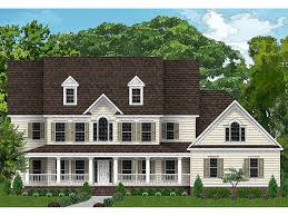 country house plans two story luxury country home plan 049h