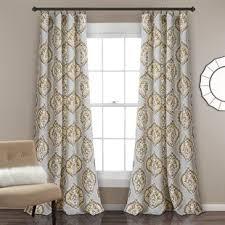 Paisley Curtains Gray And Silver Paisley Curtains Drapes You Ll Wayfair