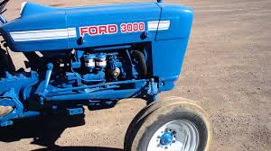 tractor ford 3000 de 38 hp youtube