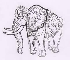 printable 18 elephant mandala coloring pages 5438 elephant