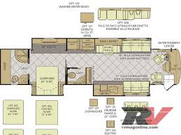 2 Bedroom Travel Trailer Floor Plans Coach House Rv Floor Plans House Plans