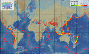 global zone map multimedia gallery global map of earthquakes nsf national