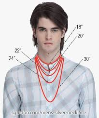 mens necklace lengths images Everything you need to know about mens silver necklaces beading jpg