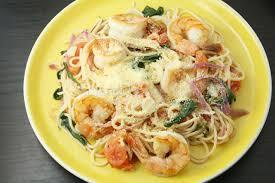 lemon basil shrimp pasta thejanechannel