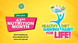 2017 National Nutrition Month Celebration Materials Talking