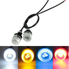 eagle view tattoo machine lights 12v motorcycle car 5630 led eagle eye concave mirror light drl tail